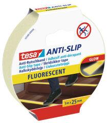 tesa Ruban adhésif anti-dérapant, 25 x 5,0 m, fluorescent