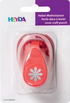 HEYDA Perforatrice à motif 'étoile', petit, couleur: rouge