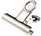 JPC Pince à papier 'bulldog', métal, couleur: nickelé, 30 mm