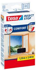 tesa Moustiquaire COMFORT pour les fenêtres, anthracite