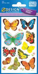 AVERY Zweckform Sticker ZDesign 'papillons'