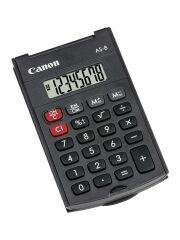 Canon Calculatrice AS-8, fonctionnement par piles