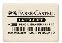 FABER-CASTELL Gomme en caoutchouc 7041-40, blanc