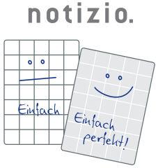 AVERY Zweckform Cahier spirale 'Notizio' Basic, A4,quadrillé