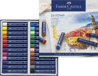 FABER-CASTELL Pastel à l'huile STUDIO QUALITY, étui de 12