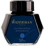 WATERMAN Flacon d'encre, contenu: 50 ml, bleu sérénité