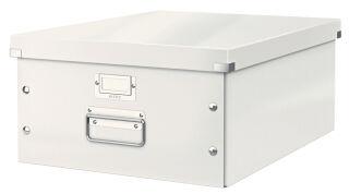 LEITZ Boîte de rangement Click & Store WOW, A3, blanc