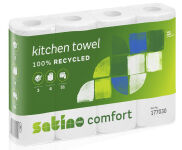 wepa Essuie-tout Comfort, 3 couches, extra blanc
