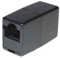 shiverpeaks BASIC-S Adaptateur modulaie-IN-line, RJ11, noir