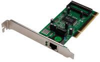 DIGITUS Adaptateur réseau PCI Gigabit Ethernet RJ45, 32 bit