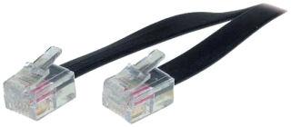 shiverpeaks BASIC-S Câble modulaire, RJ11-RJ11 mâle, 15,0 m