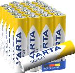VARTA Pile alcaline 'Energy', Micro (AAA/LR3)