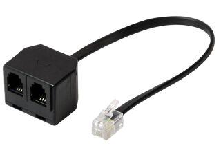 shiverpeaks BASIC-S Adaptateur Y pour combiné téléphonique