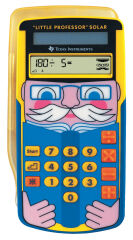 TEXAS INSTRUMENTS Calculatrice solaire Little Professor