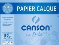 CANSON Papier calque satin, format A4, 70 g/m2