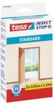tesa Grille anti-mouche STANDARD portes, blanc, 2 pièces
