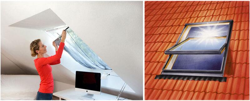 tesa 8755924 28 90 tesa moustiquaire avec protection solaire pour fen tre. Black Bedroom Furniture Sets. Home Design Ideas