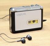 LogiLink Walkman, avec fonction convertisseur, noir/argent
