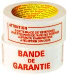 3M Scotch Ruban imprimé 'BANDE DE GARANTIE', 50 mm x 100 m