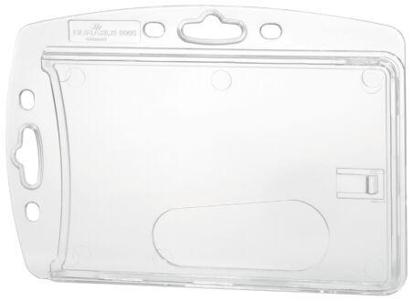 DURABLE Porte-badge, plastique rigide, 54 x 85 mm, encoche