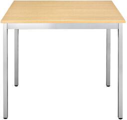 SODEMATUB Table universelle 76RHA, 700 x 600,hêtre/aluminium