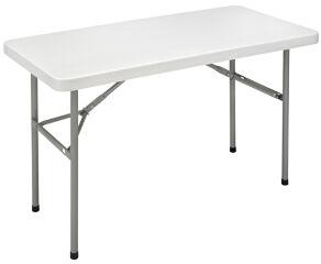 SODEMATUB Chaise pliante YCD-48 en plastique, gris clair
