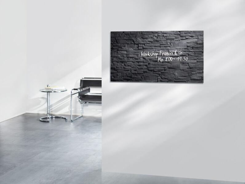 sigel 8202530 171 90 sigel tableau magn tique en verre 39 artverum 39. Black Bedroom Furniture Sets. Home Design Ideas