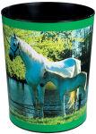 Läufer Corbeille à papier 'cheval et poulain au lac'