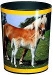 Läufer Corbeille à papier 'cheval et poulain'