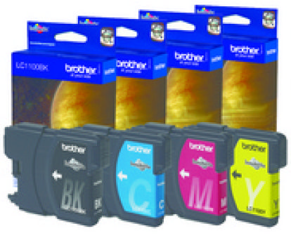brother Encre pour brother MFC-J4510DW, jaune, HC