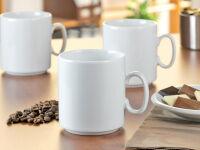 Esmeyer Tasse à café 'Diane', set de 6, blanc