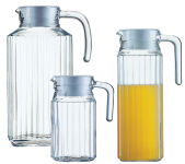 Esmeyer Arcoroc Pichet en verre 'Quadro', 1,1 L