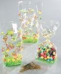 folia Sachet en cellophane avec impressions de Pâques