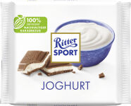 Ritter SPORT plaquette de chocolat YAOURT, 100 g