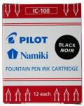 PILOT Cartouche d'encre Namiki, pour stylo Capless, noir