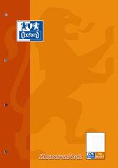 Oxford Klausurenblock, format A4, 100 pages, ligné