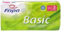 Fripa Papier hygiénique Basic, 3 couches, blanc