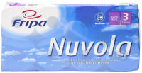 Fripa Papier hygiénique Nuvola, 3 couches, extra blanc