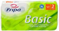 Fripa Papier hygiénique Basic, 2 couches, blanc