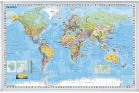 FRANKEN Carte du monde, magnétique, (l)1.380 x (H)880 mm