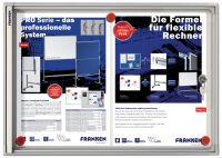 Vitrine d'affichage intérieur X-tra!Line, 2xA4, inscriptible - Franken