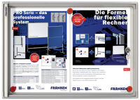 Vitrine d'affichage intérieur X-tra!Line, 4xA4, inscriptible - Franken