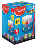 Maped Feutres dessin COLOR'PEPS Long Life, présentoir de 72