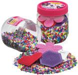 Hama Perles à repasser midi + plaques, en boîte plastique