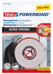 tesa Adhésif double face de montage Powerbond Ultra Strong