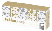 wepa Mouchoirs Prestige, 4 couches, extra blanc, paquet de