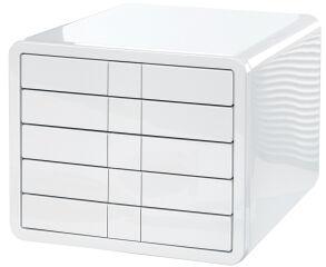 HAN Module de classement i-Box, 5 tiroirs, boîtier: blanc