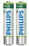 PHILIPS Pile NiMH micro (AAA) 1000 mAh, pour Pocket Memos