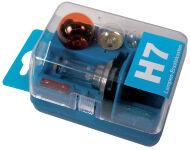 uniTEC kit de lampe rechange pour voiture H7, 7 pièces