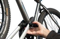 FISCHER Porte-vélo sur toit, pour 1 vélo